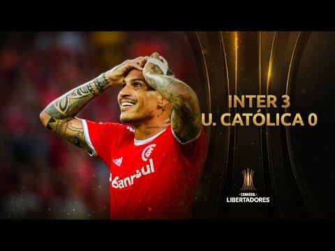 Internacional vs. Universidad Católica [3-0]   GOLES   CONMEBOL Libertadores 2020