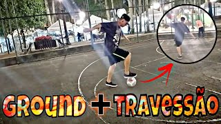 DESAFIO GROUND/TRICK + TRAVESSÃO part NYKO FREESTYLE