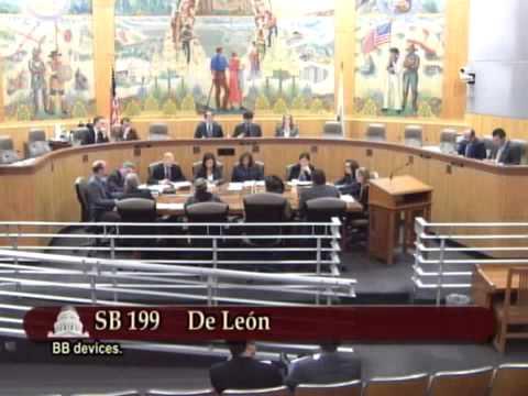 CA Senate Appropriations Committee 2014 01 21 SB199