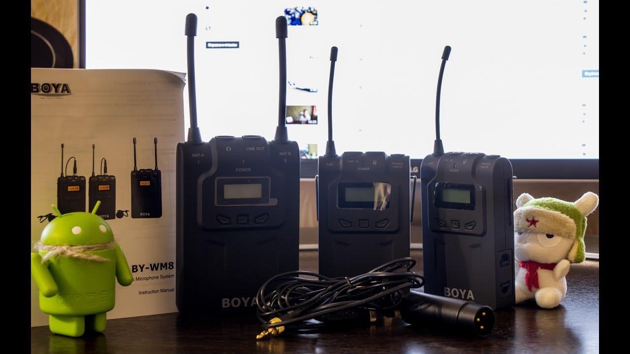 Беспроводной микрофон boya by-wm6, увч, одноканальный (1 передатчик) купить с гарантией и бесплатной доставкой по россии. Беспроцентная.