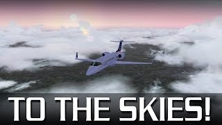 To The Skies! - Learjet from Gatwick to Birmingham Intl (FSX)
