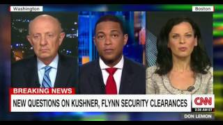 Don Lemon Panel discussion should kushner's security clearance be suspended during investigation
