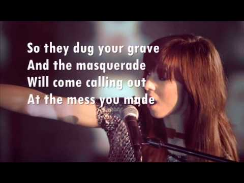 """Demons"" Cover by Christina Grimmie (Lyrics)"