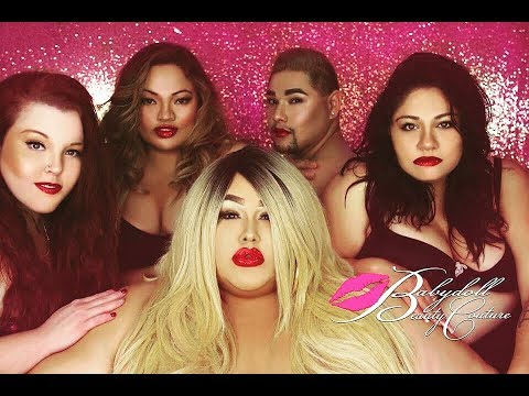 BBW Wedding Party At Babydoll Beauty Couture Salon!