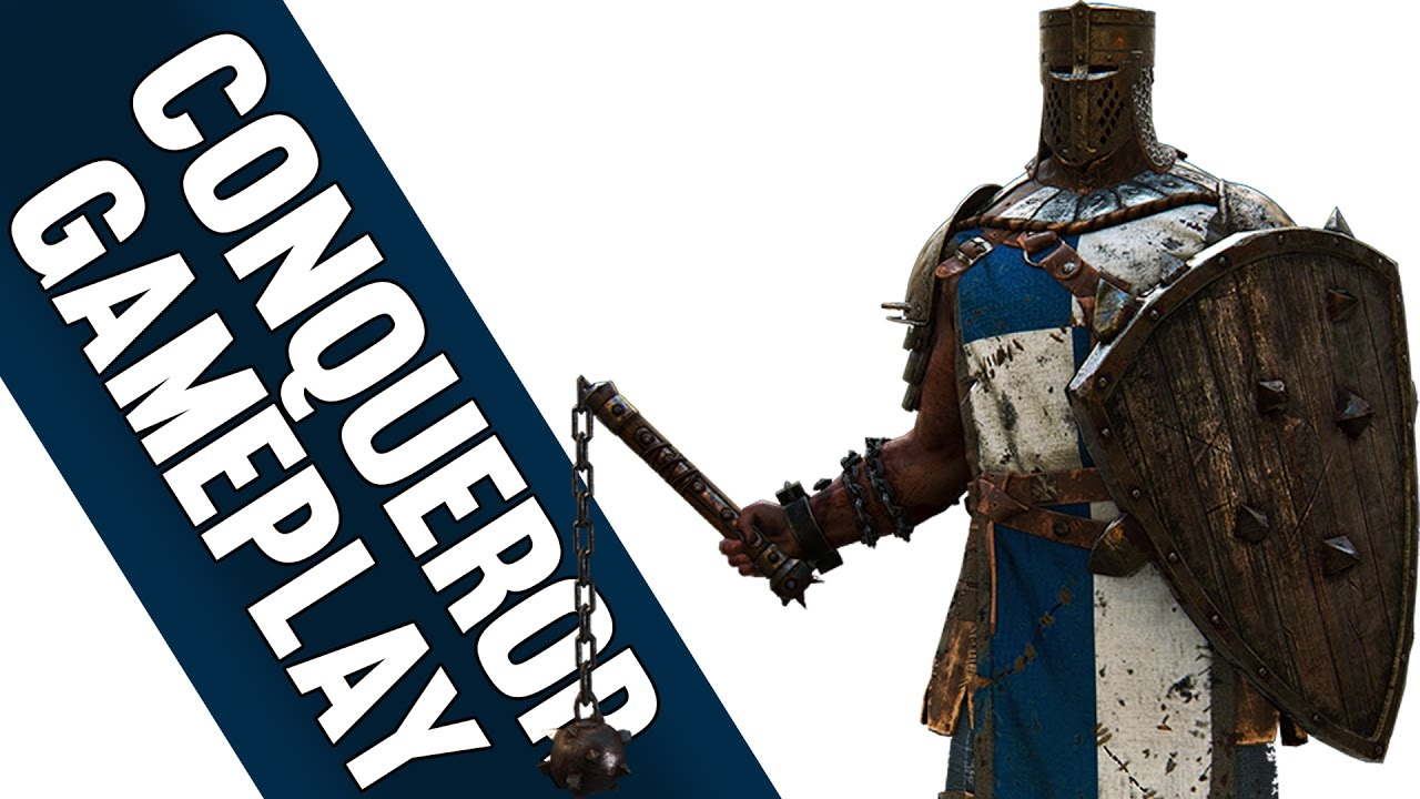 CONQUEROR GAMEPLAY - For Honor FR HD
