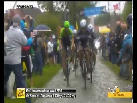 Tour 2014 Nibali vince sul pavè guardate come ha fatto