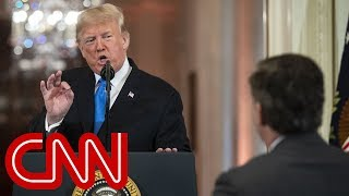 Jim Acosta responds after heated exchange with Trump