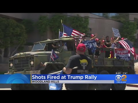 Standoff In Woodland Hills After Reports Of Shots Fired Near Pro-Trump Rally