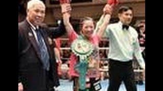 美女ボクサー 黒木優子が初KOでV4