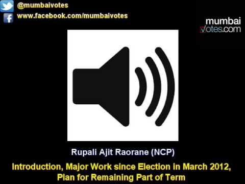 Rupali A. Raorane (NCP Corporator of Ward P/N, Constituency No. 38) Interview- MumbaiVotes