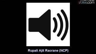 Rupali A. Raorane (NCP Corporator of Ward P/N, Constituency No. 38) Interview- MumbaiVotes