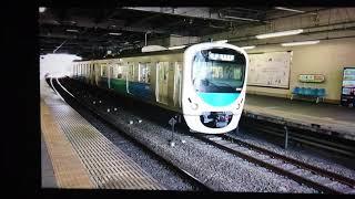 西武30000系38106F各停西武新宿行き狭山市(SS-26)発車 Local Bound For Seibu-Shinjuku(SS-01)