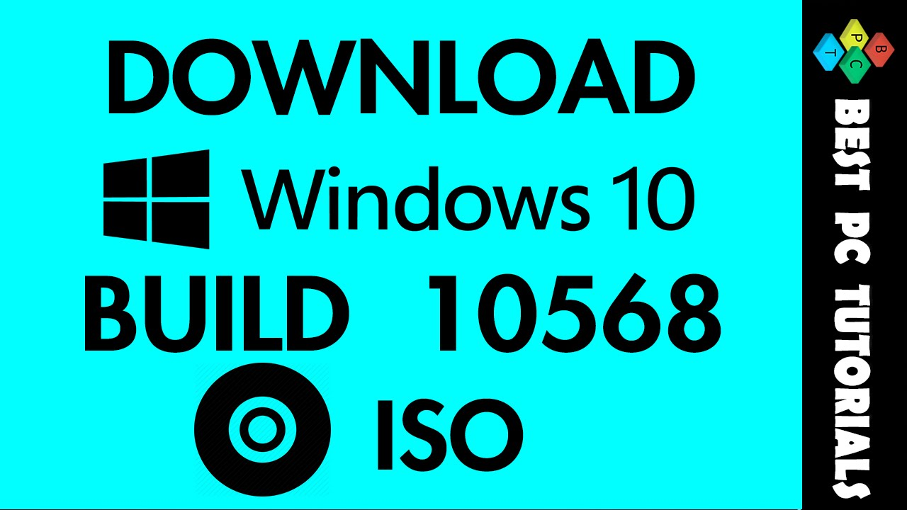 Download Windows 10 Build 10568 ISO