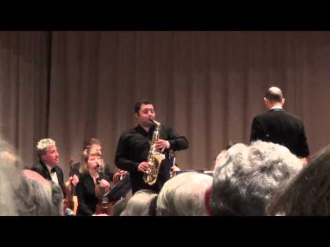 Alexander Glazunov - New Cadenza for the Concerto in E flat major for saxophone and orchestra