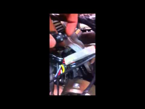 Guide to fixing a chinese 110cc atv - YouTube