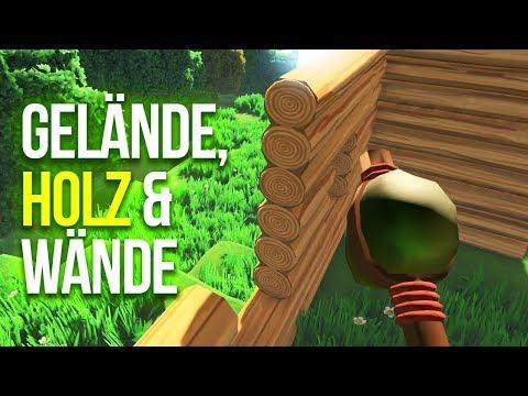ECO 🌳 002: Ein schönes Gelände, dann Holz und Wände!