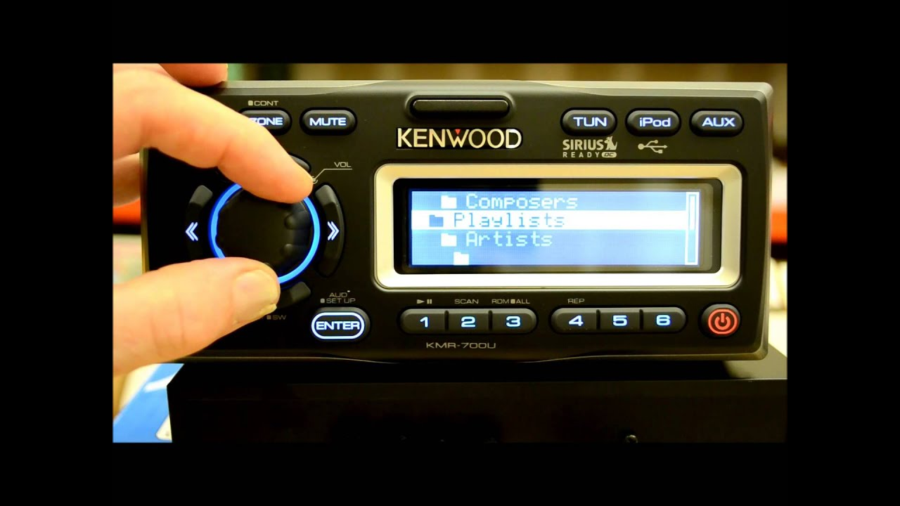 kenwood kmr 700u marine reciever review youtube fusion marine amp fusion 700 marine stereo wiring diagram [ 1280 x 720 Pixel ]