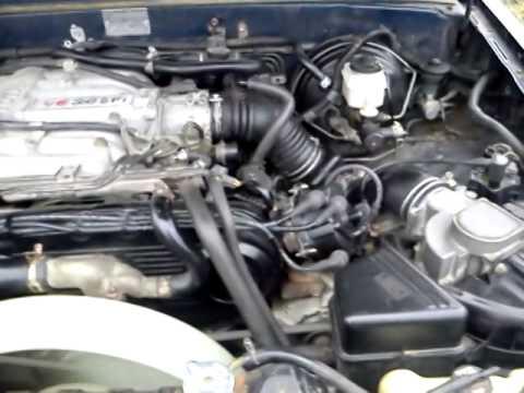 Toyota VZE 30 EFI V6  YouTube