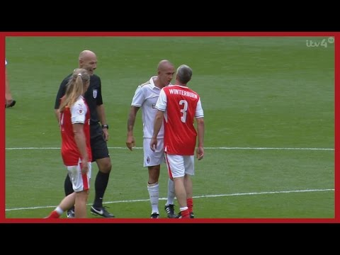 Paolo Di Canio vs Arsenal Legends (Friendly) 03/09/2016 | HD