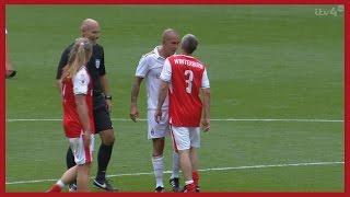 Paolo Di Canio vs Arsenal Legends (Friendly) 03/09/2016 | HD