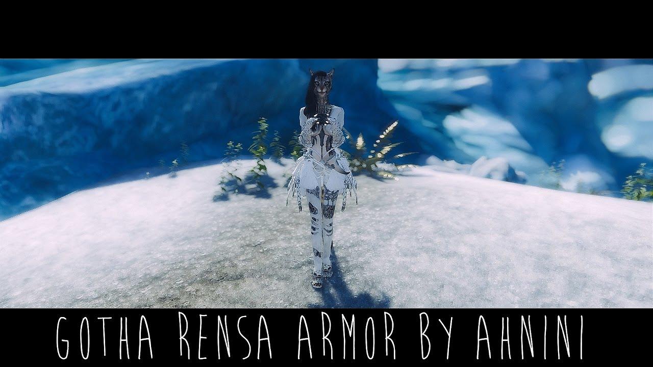 Skyrim Mod | BDO Gotha Rensa Armor