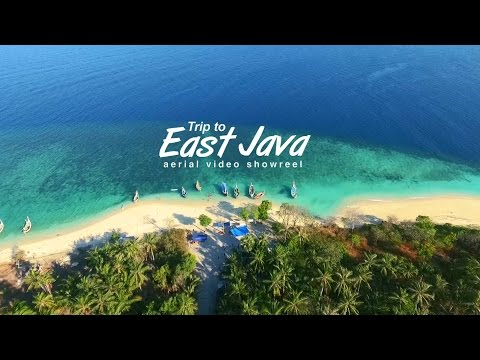 Trip To East Java, Gili Labak, Surabaya, Malang, Tulungagung, Pacitan. Aerial Video Showreel.