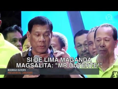 The Funny Moments of Rodrigo Duterte