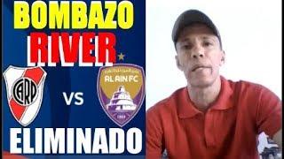 BOMBAZO RIVER PLATE ELIMINADO del Mundial de Clubes PARTIDAZO de SANTOS BORRE