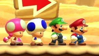 Super Mario Maker 2 - Online Versus Mode #3 (4 Player Matches)