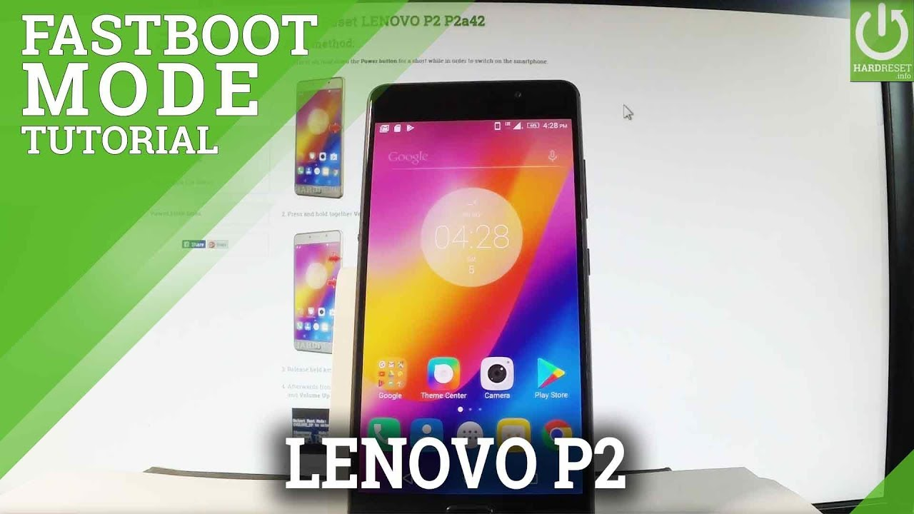 How to Open Fastboot Mode in LENOVO P2 P2a42 - Exit Fastboot