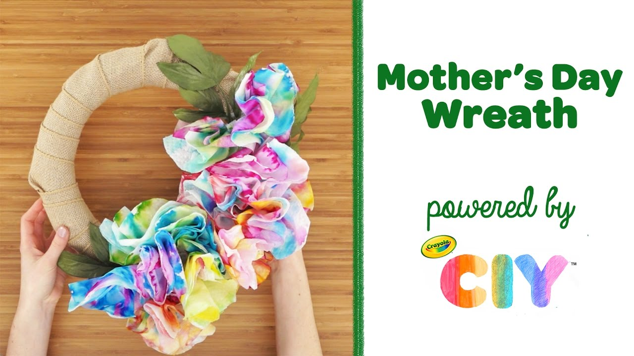 Crayola ciy create it yourself mothers day gift idea diy crayola ciy create it yourself mothers day gift idea diy wreath solutioingenieria Image collections