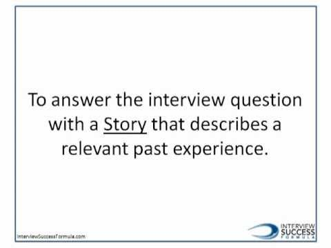 STAR Interview - What is a STAR Interview?