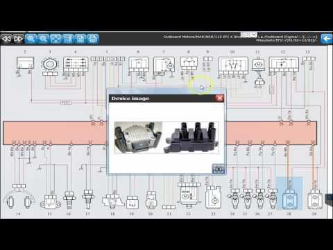 TEXA Marine Dealer Level Diagnostic Tool - Volvo Penta Honda Yamaha Mercury & More