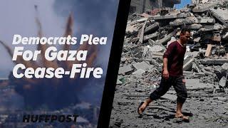 Biden Stays Silent On Cease-Fire In Gaza