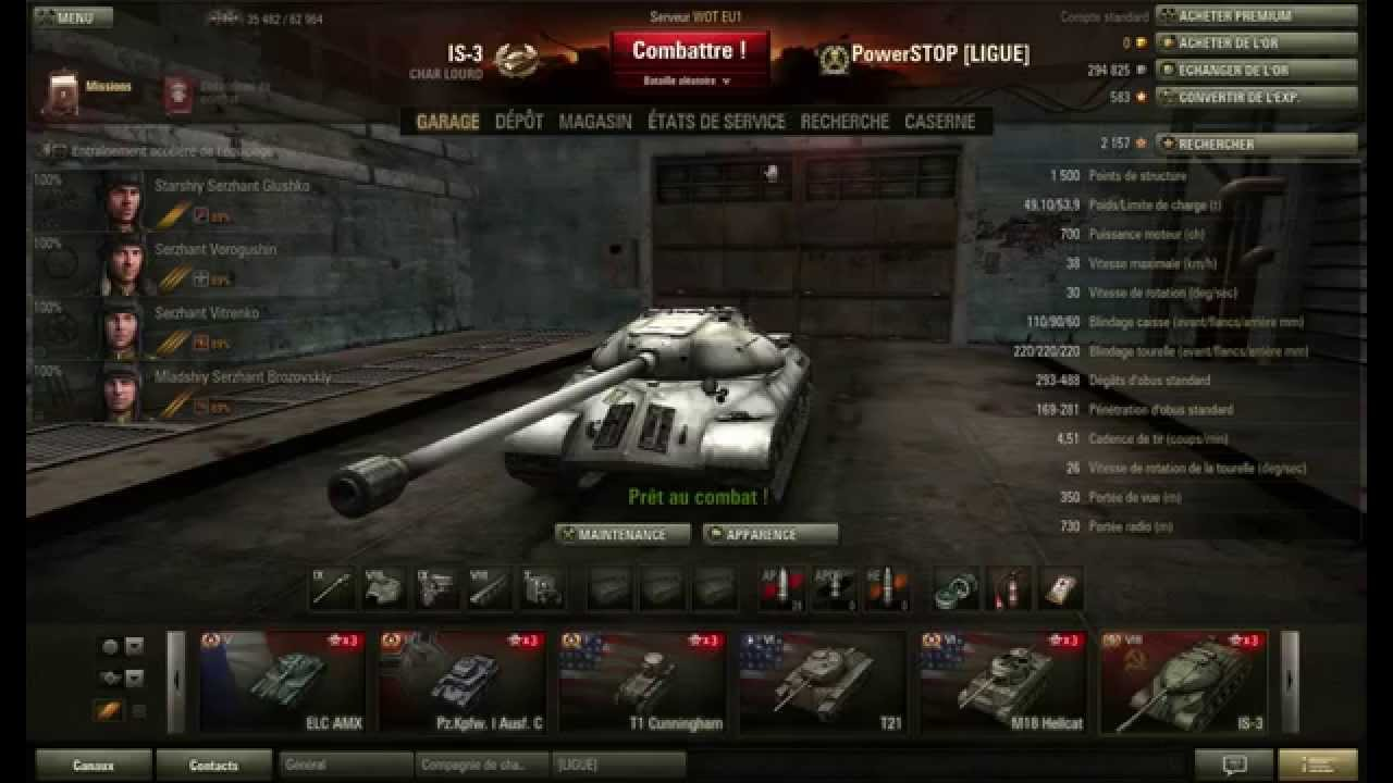 photo comment parler dans world of tank
