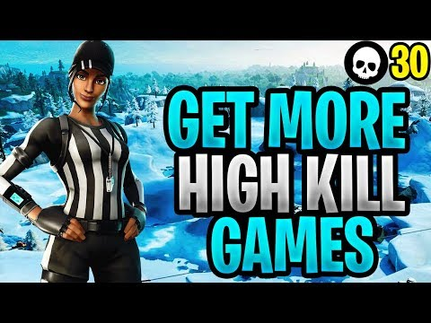 The EASIEST Way To Get High Kill Games In Fortnite 30 Kill Controller vs PC
