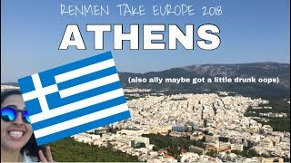 ATHENS AT LAST! // Travel Vlog #2