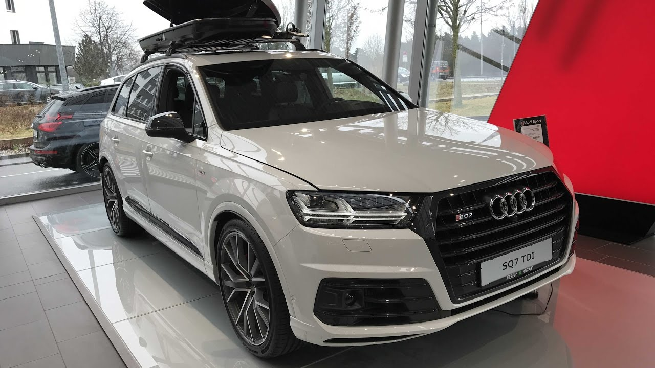 Audi Sq7 Compilation 2 Black And White Colour Model