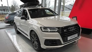 AUDI SQ7 COMPILATION 2: BLACK AND WHITE COLOUR !! MODEL 2017 !! WALKAROUND + INTERIOR !!