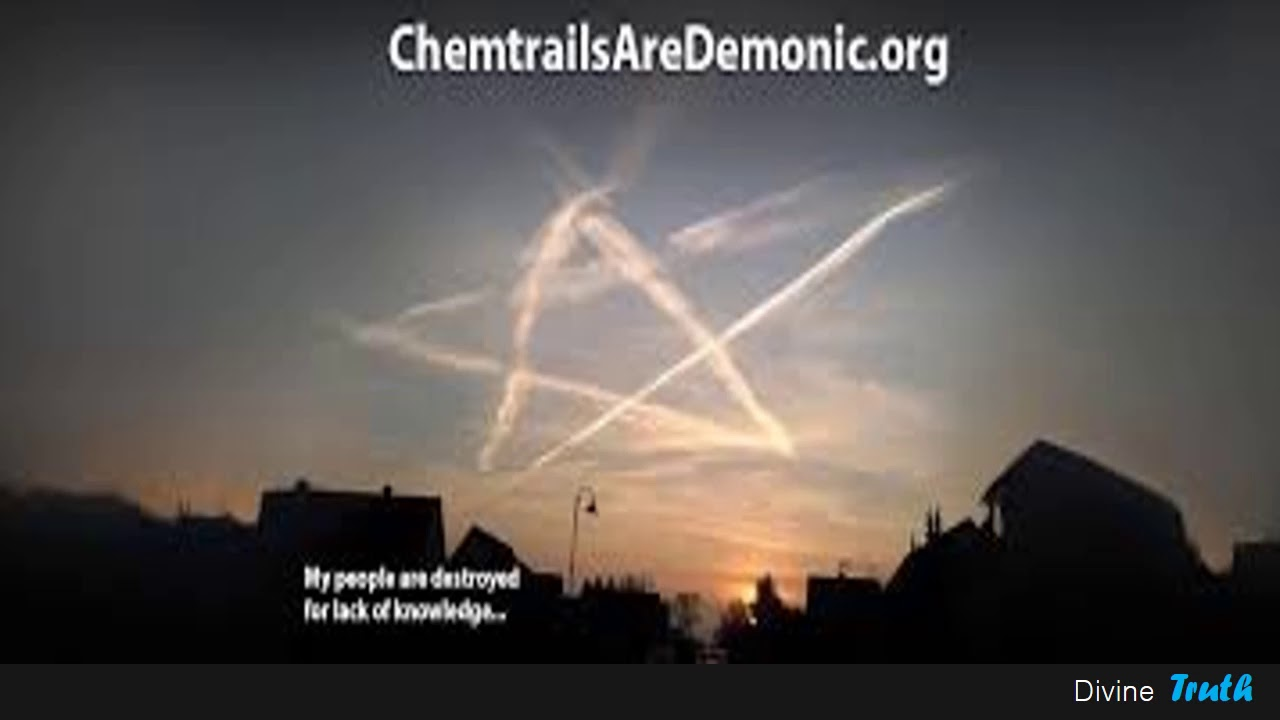 Geoengineering is fake.  Chemtrails are Jinn shapeshifting into planes