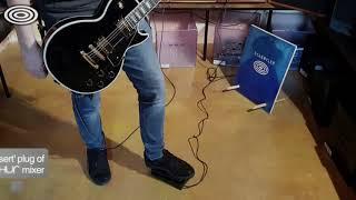 Volume Pedal into Insert plug