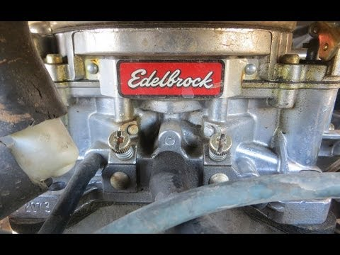 How to tune the carburetor in a Ford Bronco