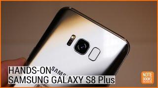 Samsung Galaxy S8 Plus Hands On Test - Deutsch / German ►► notebooksbilliger.de