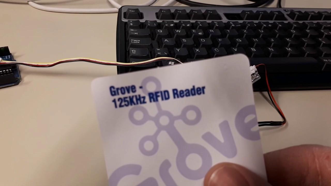 125kHz RFID tag reader