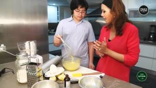 How To Make Lemon Bars By Prae's Kitchen
