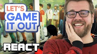 React: I Abducted My Entire Neighborhood in The Sims 4