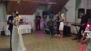Танец жениха и невесты. Под живую музыку от Marion