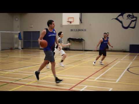 2020 Burnaby Winter League - CT Dragons Vs Reds - Roundball BC Mens Basketball League