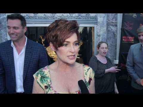Daytime Emmy's Awards Nominee Reception Interview w/ Carolyn Hennesy
