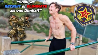 Skinny American Tries The Russian Army Fitness Test (I almost passed out)
